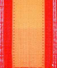 4414/12 F Sambalpuri Cotton Saree