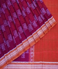 7444/818 Sambalpuri Cotton saree