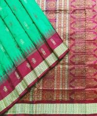 5055/600 Sambalpuri Pata Saree