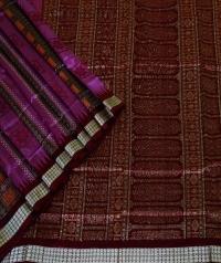 5055/576 Sambalpuri  Pata Saree
