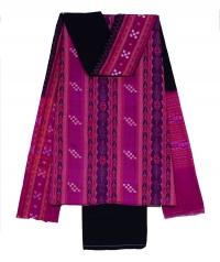 7144/72 Sambalpuri Unstitched Cotton Salwar suit Piece
