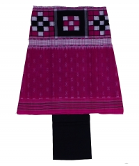 7113/07 Sambalpuri Unstitched Cotton Salwar Suit Piece