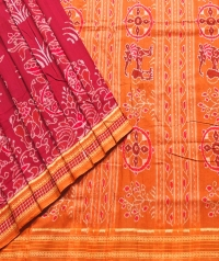 PUSPA Sambalpuri DRC Cotton Saree