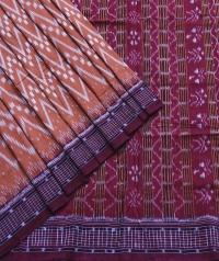 4144/36 Sambalpuri DRC Cotton Saree