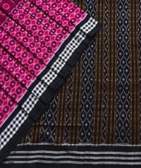 7444/1174 Sambalpuri  DRC Cotton saree