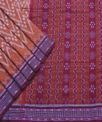 4144/36 Sambalpuri DRC Cotton Saree