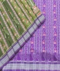 7444/1114 Sambalpuri  Cotton Saree