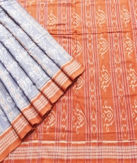 7444/1108 Sambalpuri Cotton Saree