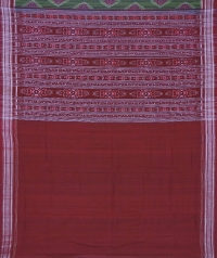 7444/640 Sambalpuri  cotton saree
