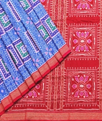 7444/1010 F Sambalpuri Cotton Saree