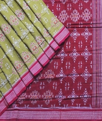 7444/880 F Sambalpuri Cotton Saree
