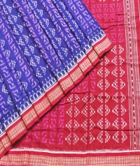 7444/806 F Sambalpuri  Cotton Saree