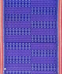 7444/806 F Sambalpuri  Cotton Saree