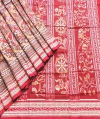 ODISHI SAKTA Sambalpuri  Cotton Saree