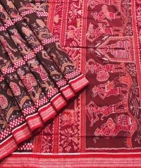 7444/1193 Sambalpuri Cotton Saree