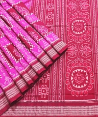 PINKI Sambalpuri Cotton Saree