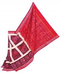 JM 44 F Sambalpuri Cotton Saree