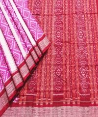 JM 110 F Sambalpuri  Cotton Saree