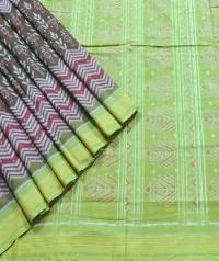 7444/1213 Sambalpuri Cotton Saree