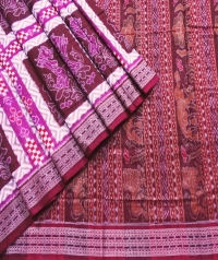7444/1133 Sambalpuri Cotton Saree