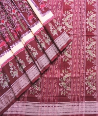 7444/1081 Sambalpuri Cotton Saree