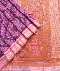 7444/1202 Sambalpuri  Cotton Saree