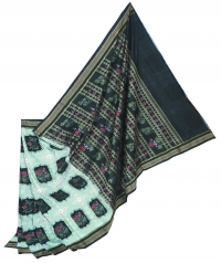 7444/1009 F Sambalpuri Cotton Saree