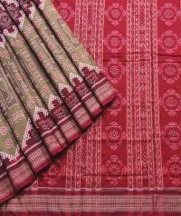 7744/57Mashya Ratna Sambalpuri  Cotton Saree