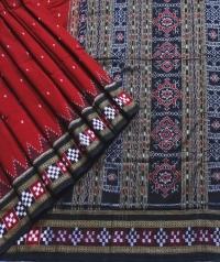 7444/94Border Sakta Sambalpuri Cotton Saree