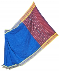 4414/02 JHARANA RANEE Sambalpuri Cotton Saree