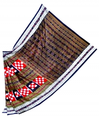5055 BICHITRAPURI SAKTA Sambalpuri Traditional Silk Saree