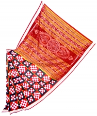 5055/586 F Sambalpuri Traditional Silk Saree