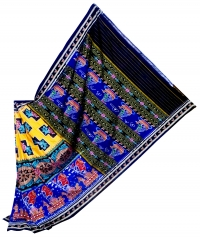7444/1183 Sambalpuri Traditional Cotton Saree