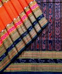 7444 NEW BIJAYAPURI Sambalpuri Traditional Cotton Saree