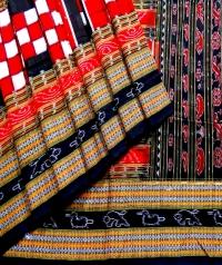 7444 NEW BICHITRAPURI Sambalpuri Traditional Cotton Saree
