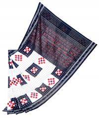 7444/1155 Sambalpuri  Traditional Cotton Saree