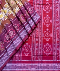 7444 NEW GRUHA LAXMI Sambalpuri Traditional Cotton Saree