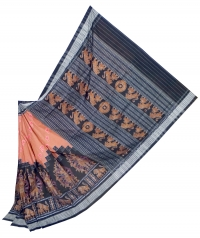 7444/1150 Sambalpuri Traditional Cotton Saree