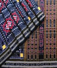 7444/1054 Sambalpuri Traditional Cotton Saree