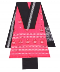7144/87 F Sambalpuri Cotton Suit Piece