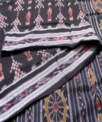 4414 R.M. 09 Sambalpuri  Cotton Saree