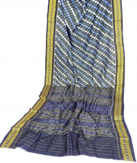7444 BAKRA SAKTA Sambalpuri Cotton Saree