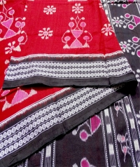 7444/1216 Sambalpuri  Cotton Saree