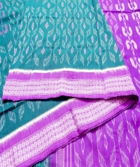 7444 TULASHI MANI Sambalpuri Cotton Saree