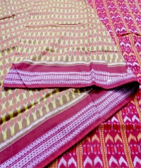 7444 GV 06 F Sambalpuri Cotton Saree
