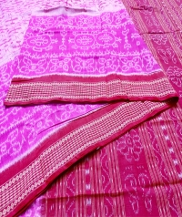 7444 ATASHI F Sambalpuri Cotton Saree