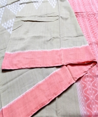 7444 C.N.01  Natural Saree