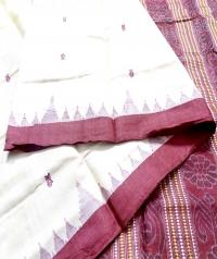 7429 JHOTI Tassar Saree
