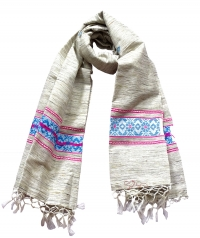 7129/06 T.M.E RUDHI SCARF F Handwoven Shawl