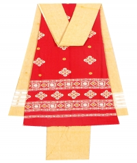 7114/56 F Sambalpuri Cotton Suit Piece